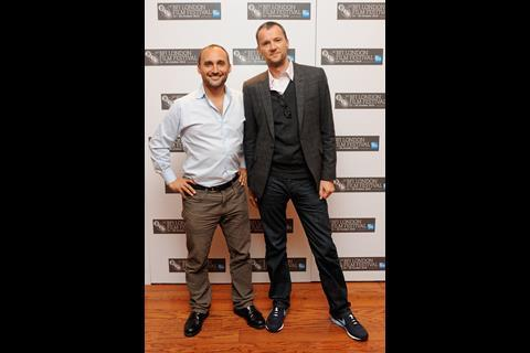 The Tillman Story director Amir Bar-Lev and producer John Battsek